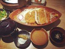 море вкусного лимона японии еды рыб свежего японского материальное сырцовое Стоковое Фото