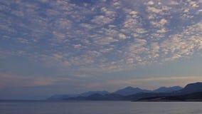 Море восхода солнца сток-видео