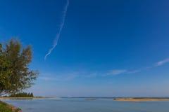 Море во время малой воды Стоковые Фото