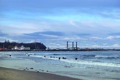 Море, волны, ветер стоковое фото