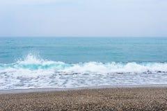 Море, волны, песок Стоковые Фото