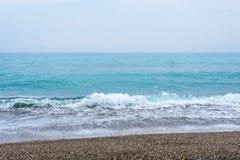 Море, волны, песок Стоковое Фото