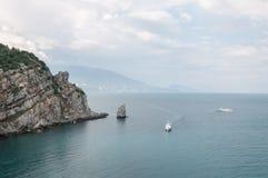 Море Море всегда завораживающе стоковые изображения