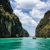 Море в влюбленности Стоковая Фотография RF