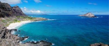Море в Гавайских островах стоковые фотографии rf