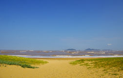 Море в горе Putuo Стоковое Изображение