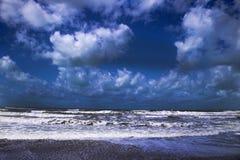 Море в зиме Стоковые Изображения RF