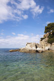 Море в испанских гаванях Стоковая Фотография