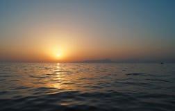 Море в Калабрии Стоковая Фотография