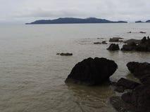 Море в небе утра Стоковые Изображения RF