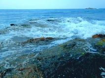 Море в осени индюка Стоковые Фотографии RF