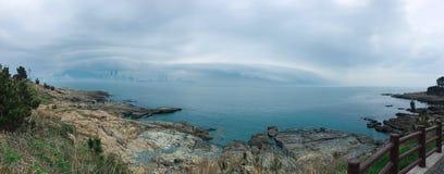 Море в Пусане стоковые изображения rf