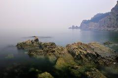Море в утре Стоковое Фото