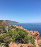 Море в Франции Стоковая Фотография RF