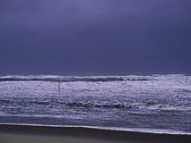 Море в шторме Стоковые Изображения