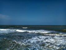 Море в Hua Hin Таиланде Стоковая Фотография
