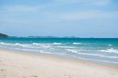 море в rayong, Таиланде Стоковая Фотография