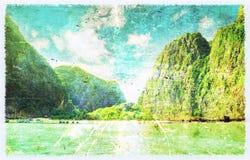 Море в Thsiland стоковые изображения