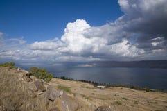 Море Галилея Стоковая Фотография RF
