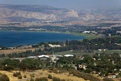 Море Галилеи Стоковое Фото