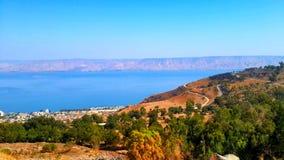 Море Галилеи стоковые фотографии rf
