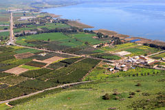 Море Галилея, Израиль стоковые фото