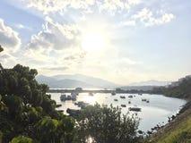 Море Гонконга стоковое изображение rf