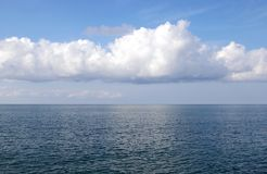 море горизонта Стоковая Фотография