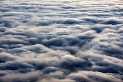 Море горы облаков Стоковые Фотографии RF