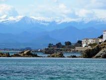 море горы Стоковая Фотография