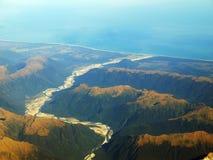 море горы Стоковое Изображение