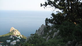 Море, горы Стоковые Изображения RF