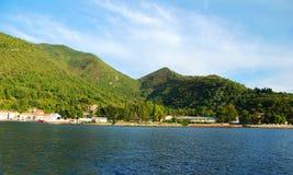море гор Стоковое Изображение