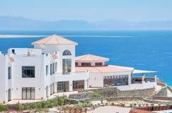море гостиницы Стоковые Изображения