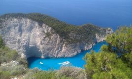Море Греции Egean стоковое изображение rf