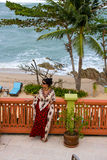 море девушки Стоковое фото RF
