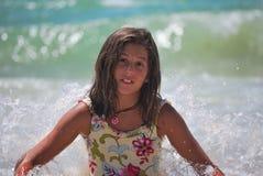 море девушки Стоковая Фотография