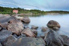 море дома Стоковая Фотография RF