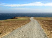 море дороги к Стоковые Фотографии RF