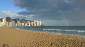 Море, лето, потеха и песок Стоковые Изображения RF