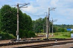 море железной дороги к Стоковые Изображения