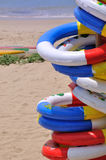 море жизни праздника томбуя пляжа Стоковая Фотография