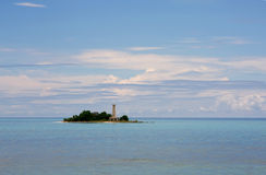 море земли облаков Стоковая Фотография