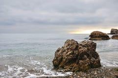 Море зимы Стоковые Изображения RF