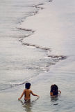 море изверга Стоковая Фотография