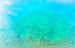 Море изумрудно-зеленого, Окинава Стоковые Фотографии RF