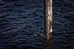 море индикатора ровное Стоковые Фотографии RF