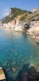 море Италии ligurian Стоковые Изображения