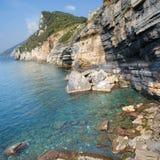 море Италии ligurian Стоковая Фотография RF
