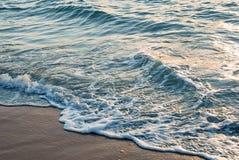 Море или океан предпосылки воды Стоковое Изображение